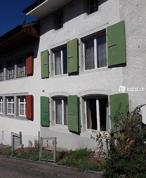 Rheihenmittelhaus in idyllisches Dorf