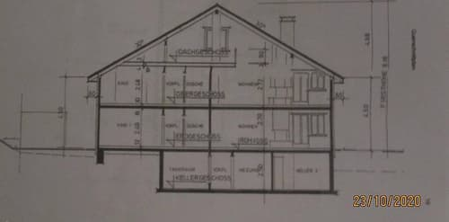 2.Familienhaus, Garagen, Witterswil 1x5Zi 1x51/2 Zi Galerie