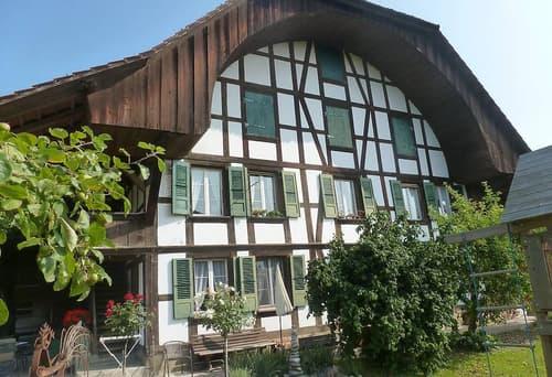 schöne und moderne 3,5 Zi Bauernhauswohnung