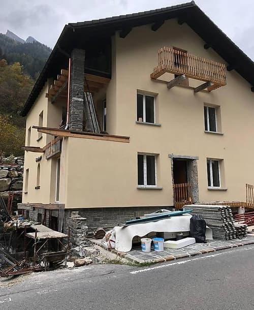 Arvigo casa in fase di ristrutturazione