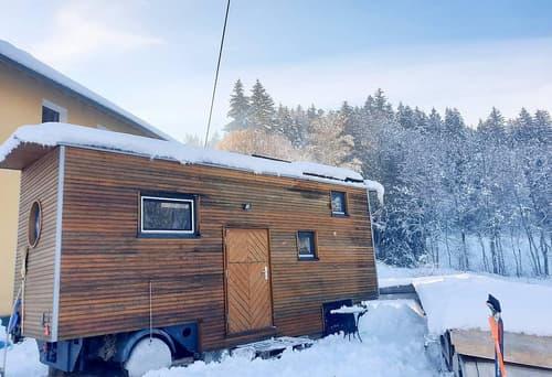 Tiny House, Haus auf Rädern Kleinwohnform