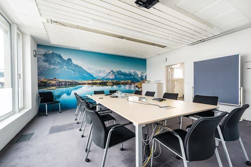 Komplett ausgestattete Büroräume inklusive aller Nebenkosten in Seenähe