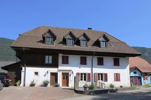 Zweifamilienhaus mit Baulandreserve