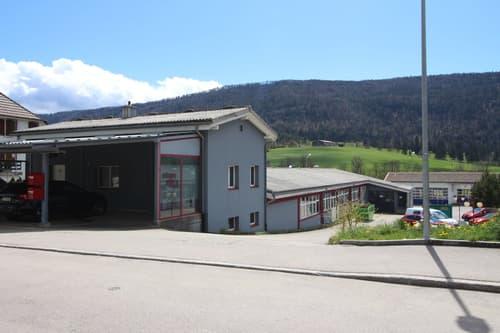 Gewerbeliegenschaft / Immeuble industrielle, Corgémont