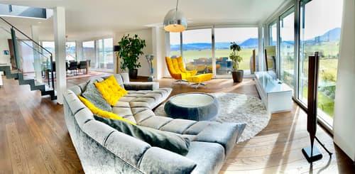 Moderne 4 1/2 Zimmer Duplex-Maisonettewohnung in Kehrsatz