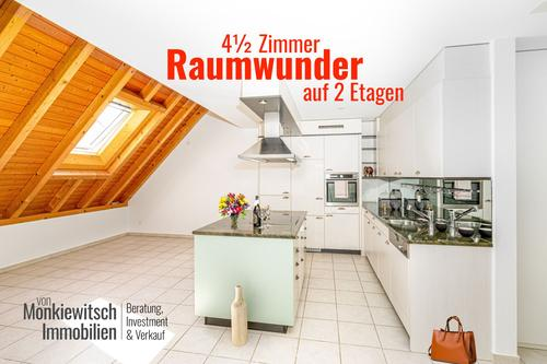 4.5 Zi. Maisonette-Wohnung in Hagenbuch