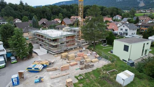 Neubau Wohnung an zentraler Lage in Langendorf