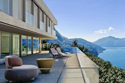 6.5-Zimmer-Wohnung mit zauberhafter Aussicht auf den Luganer See zu verkaufen (1)