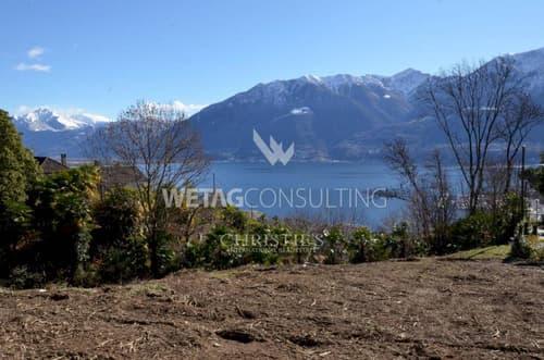 Das perfekte Grundstück in Orselina mit Blick auf den Lago Maggiore zu verkaufen