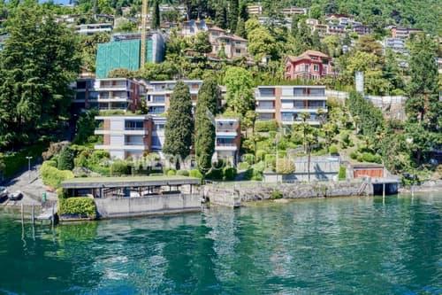 Renommierte 4.5-Zimmer Wohnung in Castagnola direkt am Luganer See zu verkaufen (1)