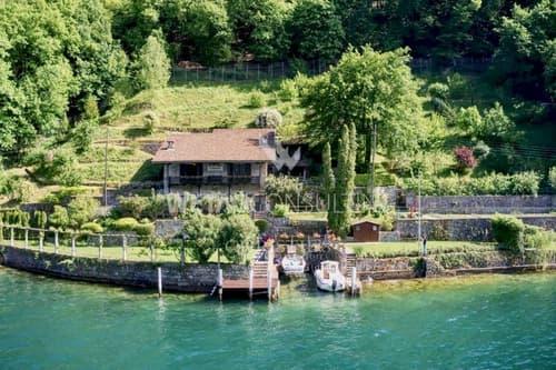 Schöne Rustico-Villa in Cantine di Gandria direkt am Luganer See zu verkaufen