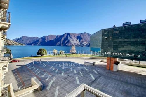 Luxus-Wohnung im Zentrum von Lugano mit Blick auf den Luganer See