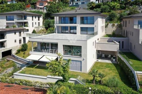 Luxus-Wohnung in Minusio mit Blick auf den Lago Maggiore zu verkaufen