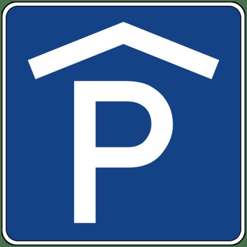 Parkplatz in der Tiefgarage