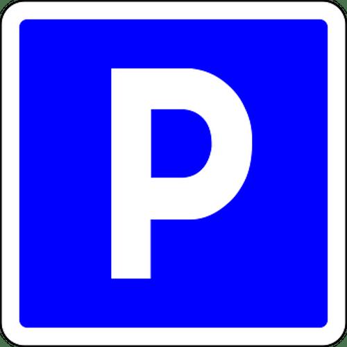 Doppel Motorrad-Parkplatz
