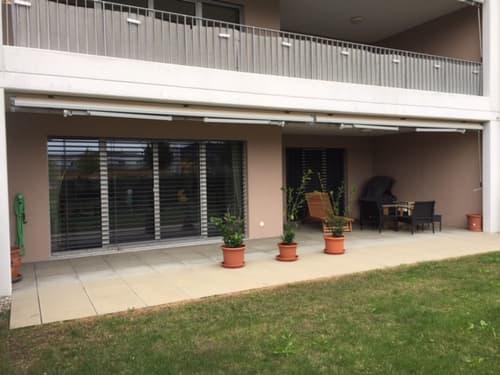 Grosszügige 2 1/2 Zwg mit schöner Terrasse und Vorgarten