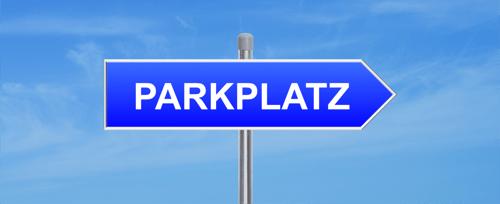 Parkplatz zu verkaufen