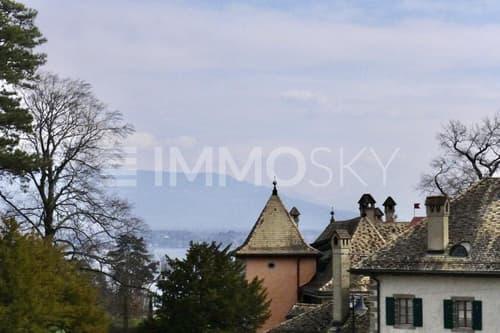 Vue sur le château depuis le balcon