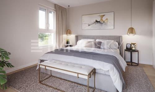 Chambre à coucher spacieuse
