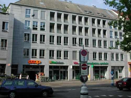 Lagerfläche direkt am Kreuzplatz