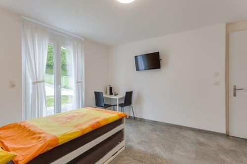 Vollausgerüstetes, möbliertes Apartment mit TV / Internet