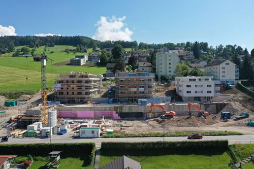 Baustand September 2021