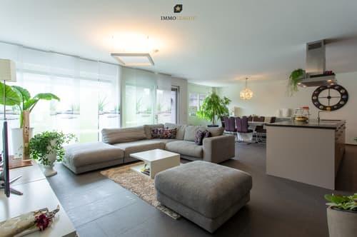 Modernes Wohn- und Esszimmer