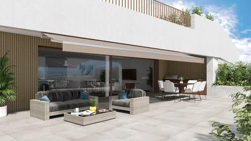 NEU: MEGA 5.5 Zi.-Terrassenwohnung mit Outdoor-Küche und Fernsicht
