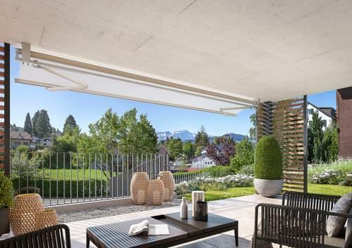 NEU: Niederteufen coole 3.5 Zi.-Gartenwohnung mit fantastischer Sicht auf Alpstein