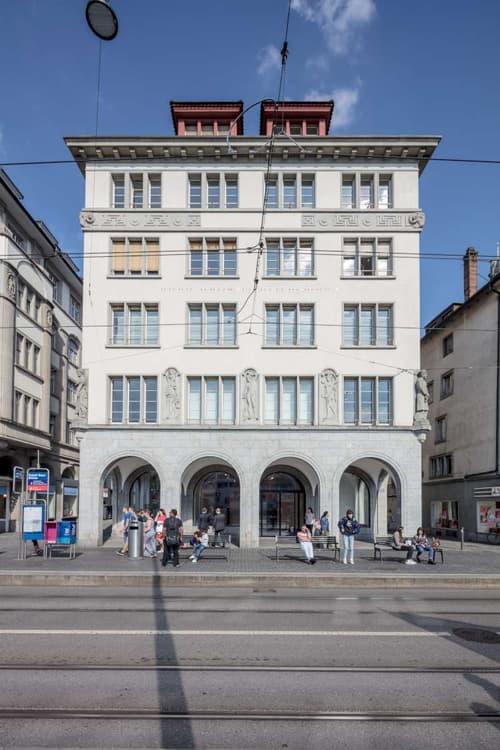 Vollausgebaute Büroräumlichkeiten nähe Zürcher Hauptbahnhof