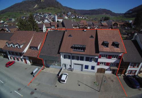 Renditeobjekt mit separatem Gewerbegebäude