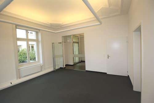 Bürozimmer mit hochwertigem Ausbaustandard