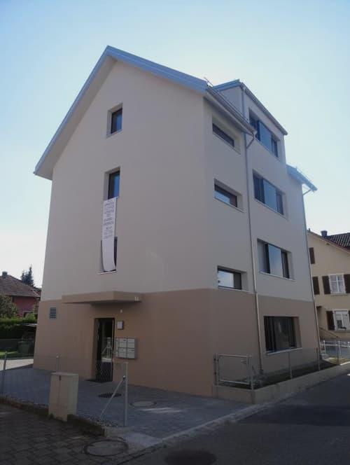 Zentrale Gewerbe- resp. Büroräumlichkeiten in neuem Minergiehaus, 95,7 m2