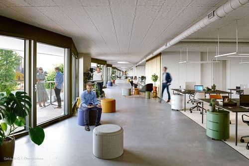 Bürofläche Gebäude D