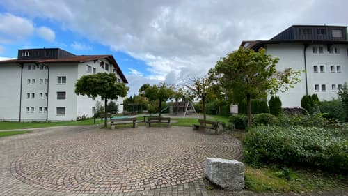Grosszügige Wohnung im Grünen in Oberuzwil