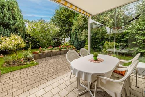 Komfortable Gartenwohnung an bevorzugter Lage
