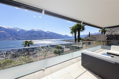 Exklusive Terrassenwohnung mit Pool und grandioser Aussicht
