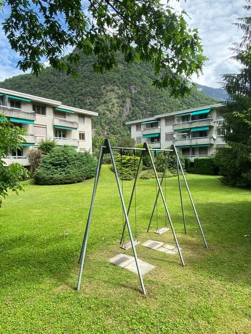 Zwei Mehrfamilienhäuser mit Baulandreserve