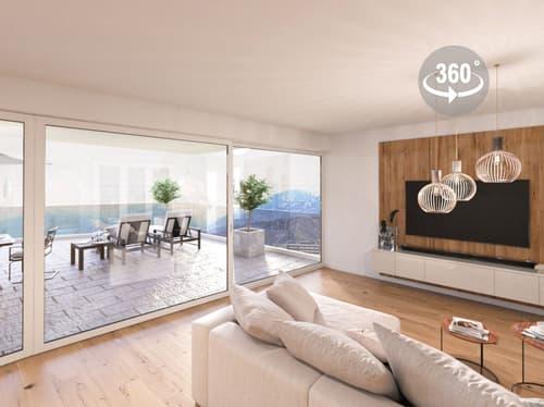 EXKLUSIVE NEUBAUWOHNUNG AN TOPLAGE Moderner Wohntraum mit Weitsicht-Terrasse & Abendsonne