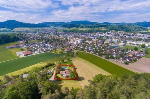 Baulandparzelle mit bestehender Liegenschaft an attraktiver Lage in Aadorf