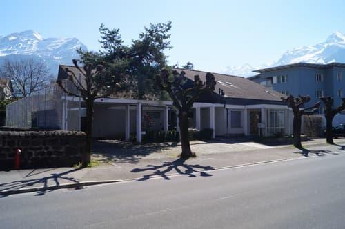 Ein- oder Zweifamilienhaus mit grossem Garten