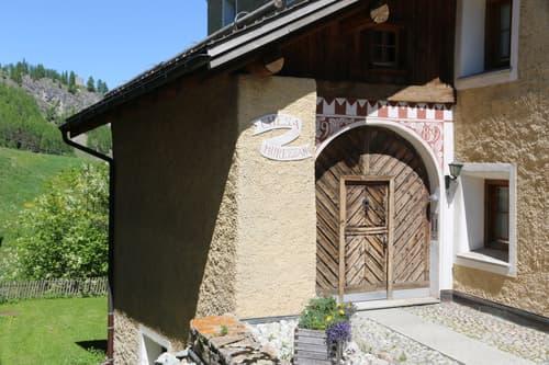 Charmanter Hauseingang