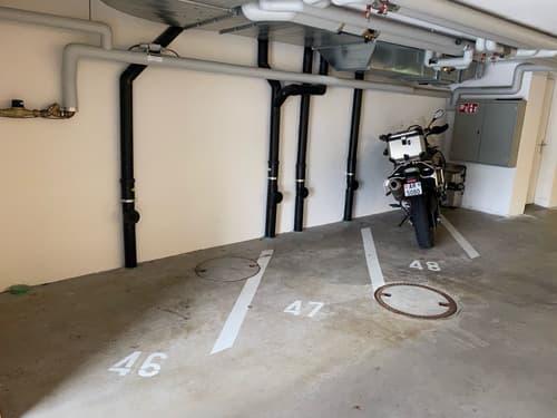 Motorrad Garagenplatz Nr. 46