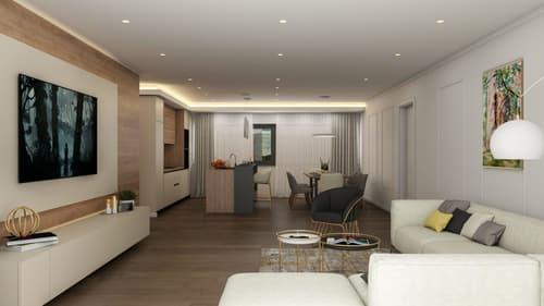4.5 Zimmer-Neubauwohnung mit Terrassenfläche