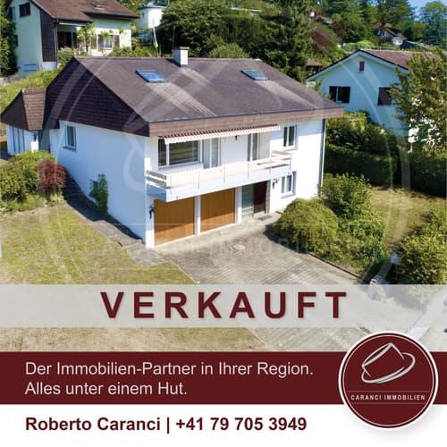 VERKAUFT - Freistehendes 7.5 Einfamilienhaus mit  vielen Möglichkeiten