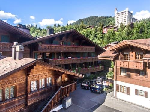 Möblierte 4.5-Zimmerwohnung im Zentrum, Gstaad