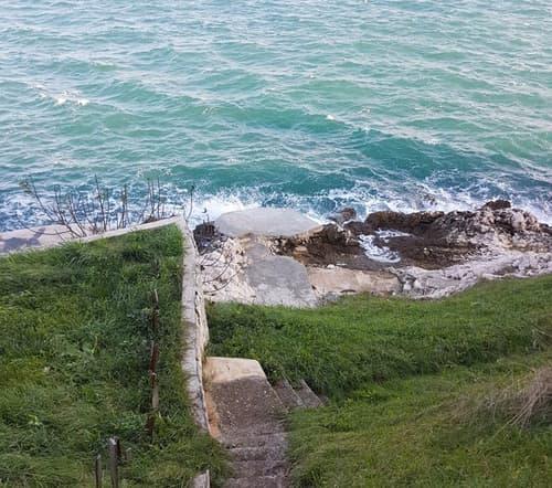 Erste Reihe - Bauland direkt am Meer