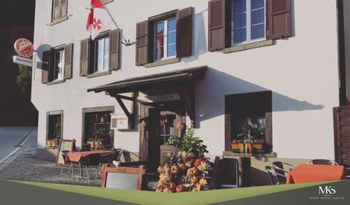 Eingang zum Walliserhof