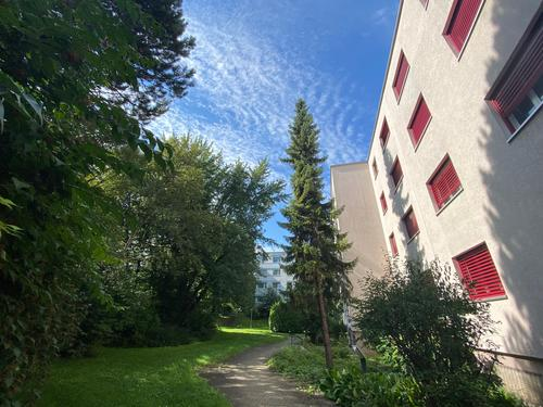 Helle Wohnung, nahe beim Zentrum und Ruhig gelegen