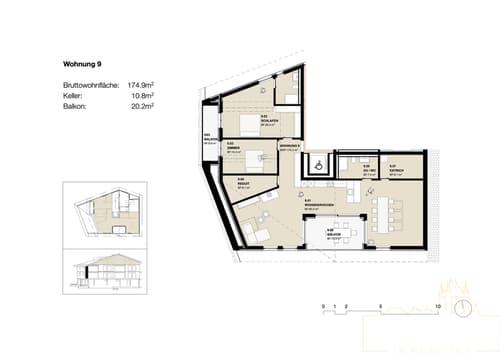 3.5 Zimmer Neubauwohnung in Wimmis